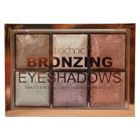 Technic Bronzing 6 Colour Baked Eyeshadow Palette (10 UNITS)
