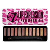 W7 Lip Explosion 12pc Lip Colour Palette 8g BULK (36 UNITS)