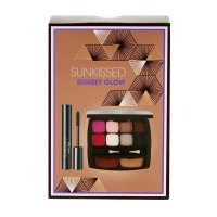 SUNKissed Sunset Glow Travel Compact Makeup Kit BULK (48 UNITS)