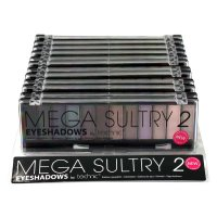 Technic Mega Sultry 2 12pc Eyeshadow Palette 12x 1.5g (12 UNITS)