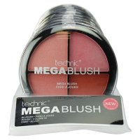 Technic Mega Blush Quad Blusher Compact 20g (10 UNITS)
