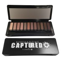 Covershoot Captured 12pc Eyeshadow Palette 12x 1.2g (12 UNITS)