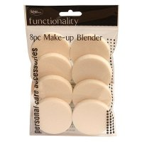 Royal 8pc Make-Up Blender Round Sponges (6 UNITS)