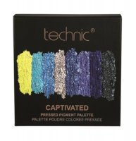 Technic Pressed Pigment Eyeshadow Palette Captivated (10 UNITS)