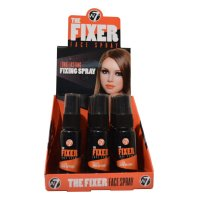W7 The Fixer Long Lasting Fixing Face Spray 18ml (12 UNITS)