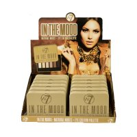 W7 In The Mood Natural Nudes 6pc Eye Colour Palette 7g (12 UNITS