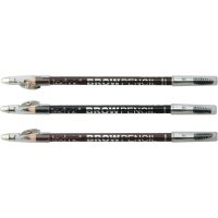 Technic Brow Pencil With Definer Brush Sharpner (36 UNITS)