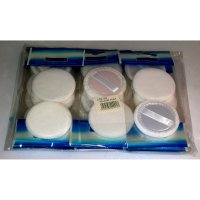 Fashion Collection Compact Powder Puffs 2pcs Per Pack (12 UNITS)
