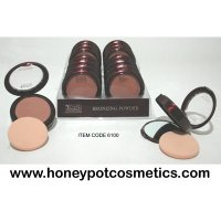 Body Collection Bronzing Powder Compact With Mirror (16 UNITS)