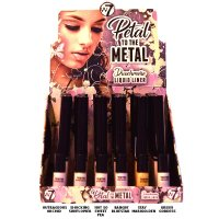 W7 Petal To The Metal Duochrome Liquid Eye Liner 5ml (432 UNITS)