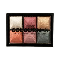 Technic Colour Max 6 Colour Baked Eyeshadow Palette (10 UNITS)
