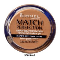 Rimmel Match Perfection Cream Gel Foundation 18ml (6 UNITS)