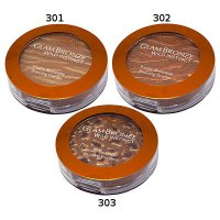 L'Oreal Glam Bronze Wild Instinct Bronzing Powder 7.5g (3 UNITS