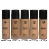 W7 Photo Shoot 16Hr Liquid Foundation 28ml (15 UNITS)