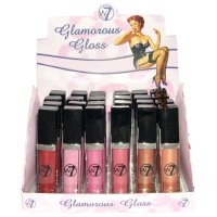W7 Glamorous Gloss Diamond Shine Lip Gloss 6g (24 UNITS)