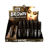 W7 It's Brown Really Brown Mascara 15ml (24 UNITS)