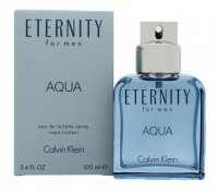 Calvin Klein Eternity Aqua 100ml EDT Spray For Men (EACH)