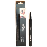 Saffron Stay All Day W/P Felt Tip Black Eye Liner Pen (12 UNITS)