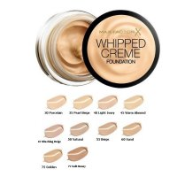 Max Factor Whipped Creme Foundation 18ml (3 UNITS)