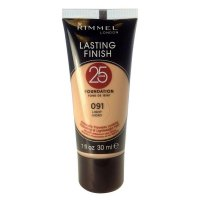 Rimmel Lasting Finish 25 Hours Foundation 30ml (3 UNITS)