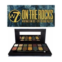 W7 On The Rocks Naturals On Ice 12pc Eye Colour Palette (6 UNITS
