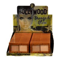 W7 Hollywood Bronze & Glow - Bronzer & Highlighter 13g (20 UNITS