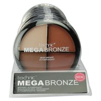 Technic Mega Bronze Quad Bronzer Compact 20g (10 UNITS)