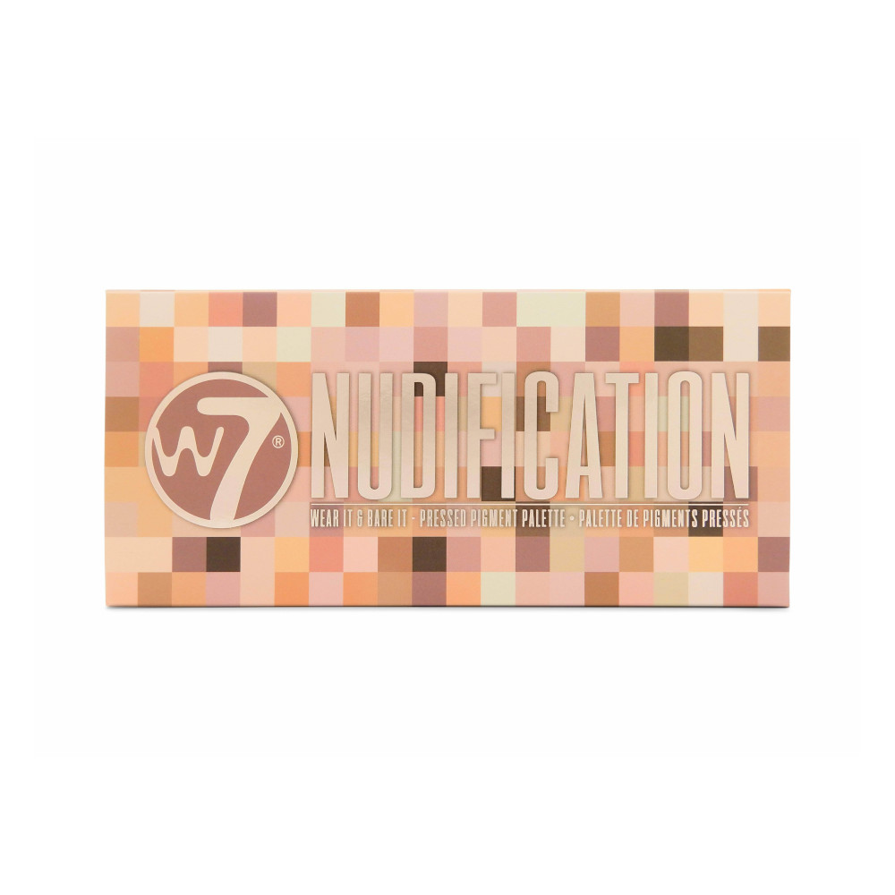 W7 Nudification Pressed Pigment Palette (6 UNITS) - Click Image to Close
