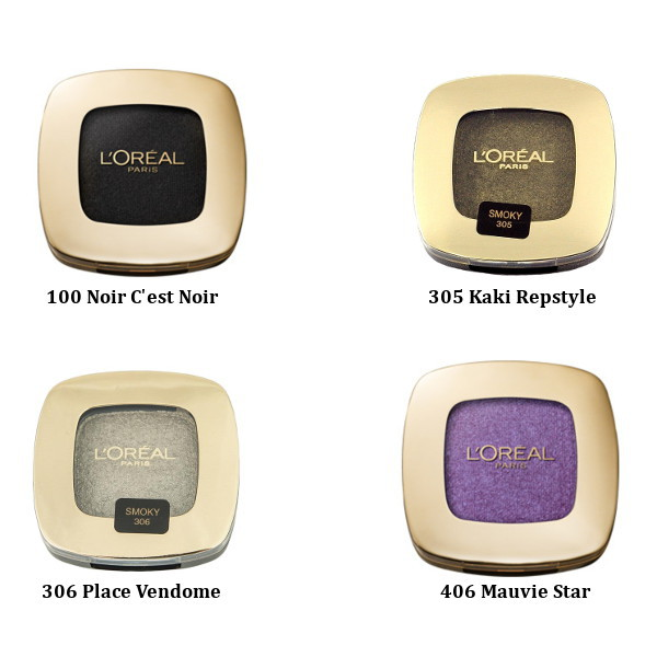 L'Oreal Color Riche Mono Eyeshadows (3 UNITS) - Click Image to Close