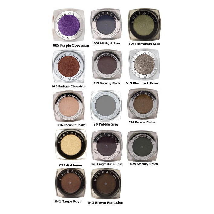 L'Oreal Color Infallible Eye Shadow 3.5g (3 UNITS) - Click Image to Close