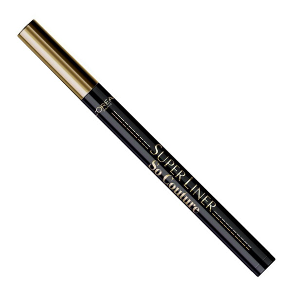 L'Oreal Super Liner So Couture Black Waterproof Eyeliner (3 UNIT - Click Image to Close