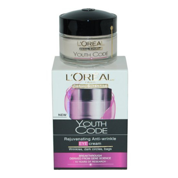 L'Oreal Youth Code Rejuvenating Anti-Wrinkle Eye Cream (6 UNITS - Click Image to Close