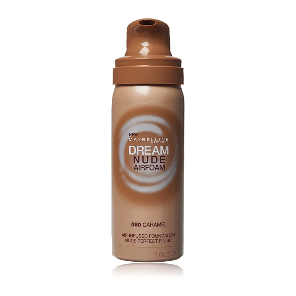 Maybelline Dream Nude Airfoam 50ml - 060 Caramel (3 UNITS) - Click Image to Close