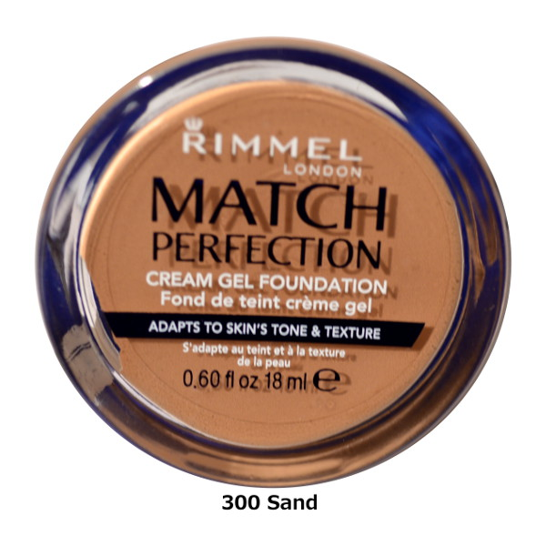 Rimmel Match Perfection Cream Gel Foundation 18ml (6 UNITS) - Click Image to Close
