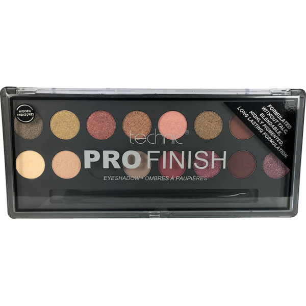 Technic Pro Finish EyeShadow. Ombres A Paupieres (10 UNITS) - Click Image to Close
