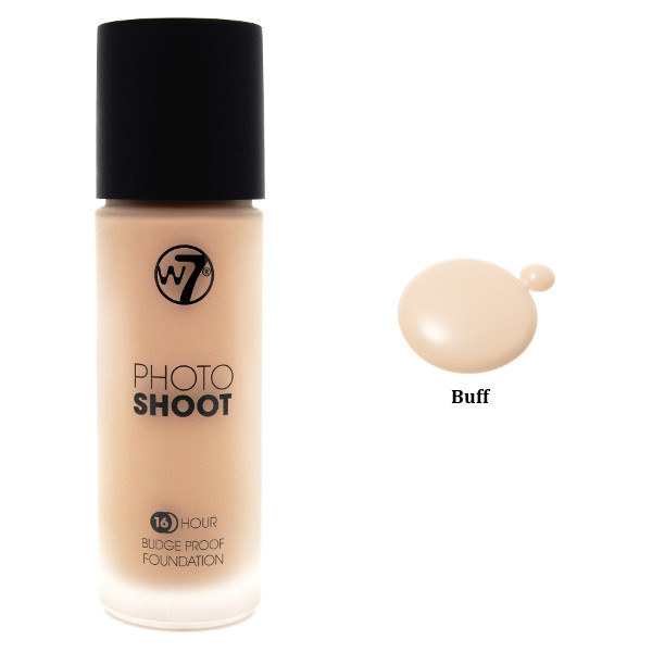 W7 Photo Shoot 16Hr Liquid Foundation 28ml - Buff (3 UNITS) - Click Image to Close